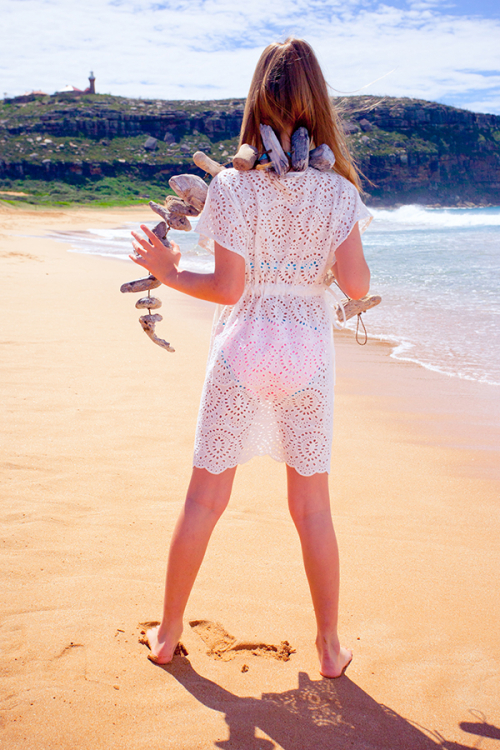 Platypus Australia weisse Tunika