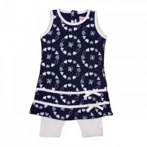 LoffF Baby Set dunkelblau