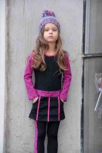 LoffF Leggins Black-Pink