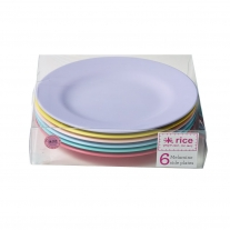 Rice 6er Set Kuchenteller