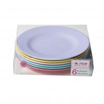 Rice 6er Set Kuchenteller