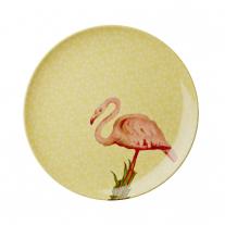 Rice Kuchenteller Flamingo