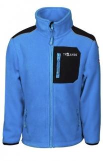 Trollkids Fleece Blau